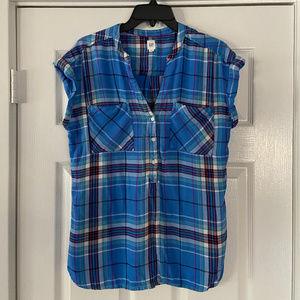Gap Plaid Shirt Medium